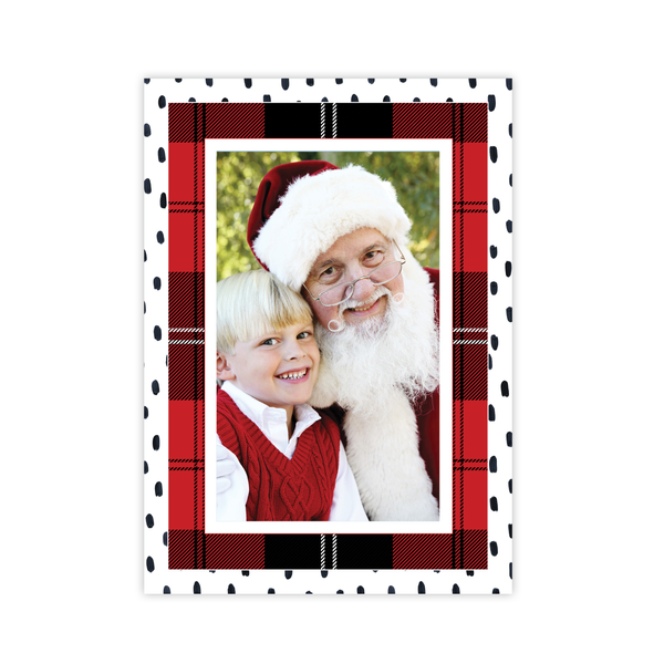 Sullivan Estate Red Portrait Christmas Card