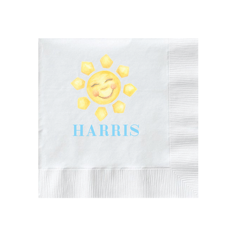 Sunshine Blue Napkin