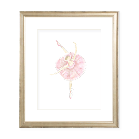 Tiny Dancer Watercolor Print by Sugar B Designs