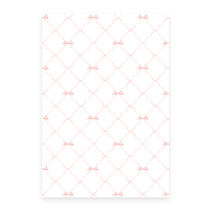 Triumphant Trumpet Pink Bow Gift Wrap