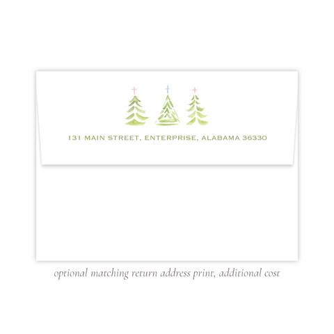 Varner Trees A7 Return Address Print