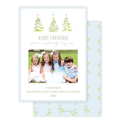Varner Trees Christmas Card Portrait