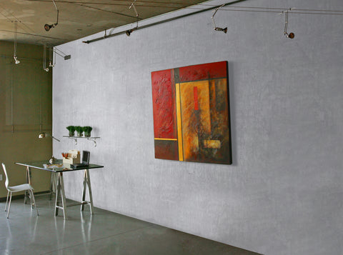 Loft Polished Concrete 33040 Concrete Wall Finish