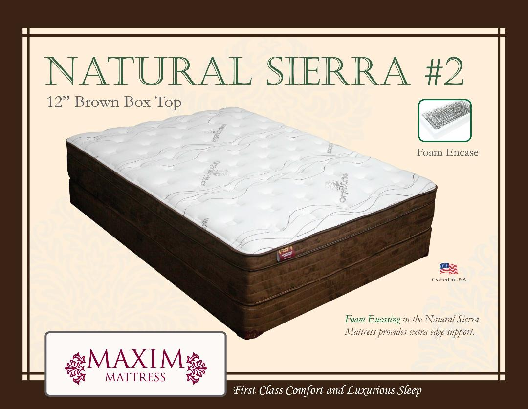 Natural Sierra #2 Box Top