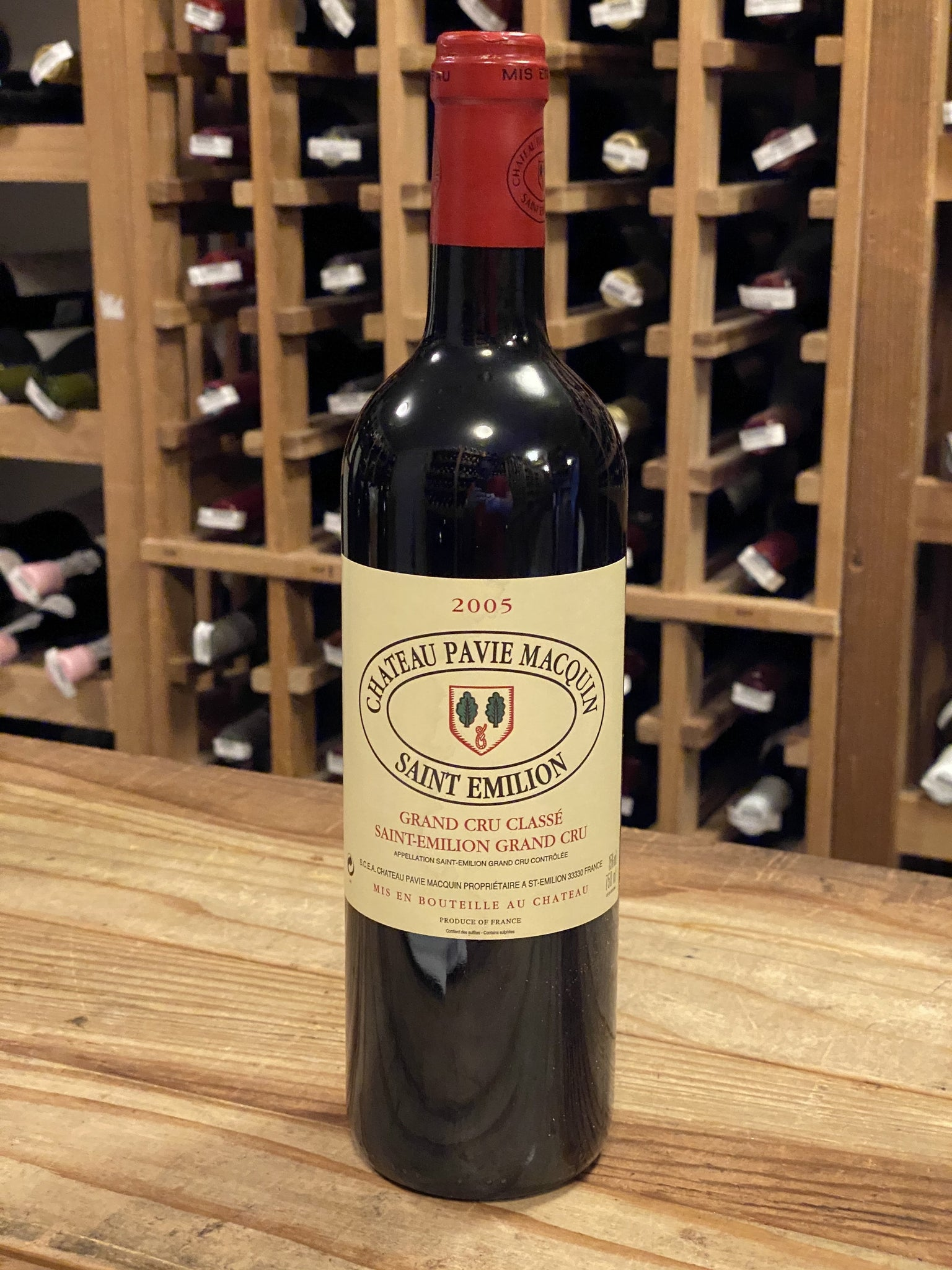 Château Pavie Macquin St. Émilion Grand Cru 2005