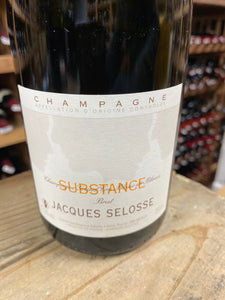 "Jacques Selosse ""Substance"" (Disgorged Jul. 9, 2018)"