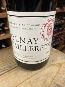 "Domaine Marquis d'Angerville ""Les Caillerets"" Volnay 1er Cru 2009"