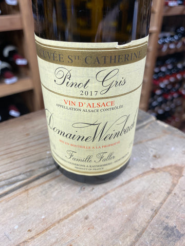 "Domaine Weinbach Pinot Gris ""Schlossberg, Cuvée Sainte Catherine"" 2017 (375mL)"