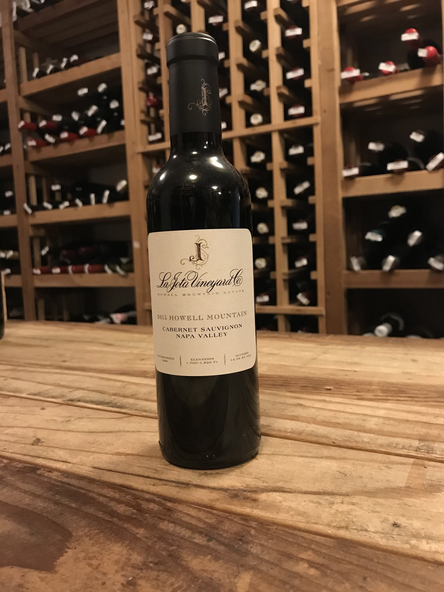 La Jota Vineyards Cabernet Sauvignon 2015 [375mL]