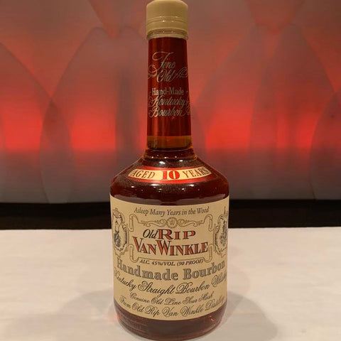 Old Rip Van Winkle (107 Proof, Squat Bottle)