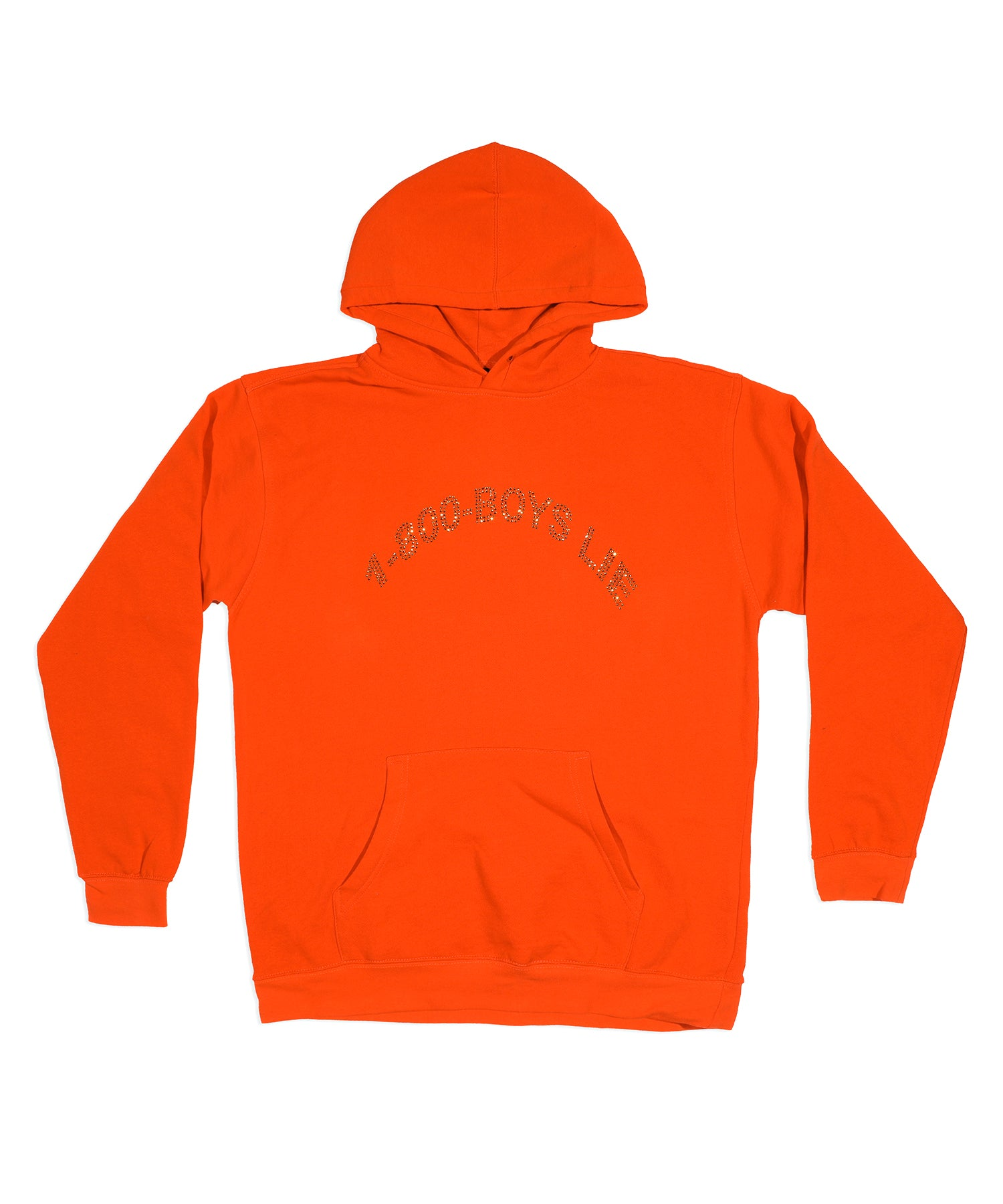 The Orange 1-800 Remix Hoodie