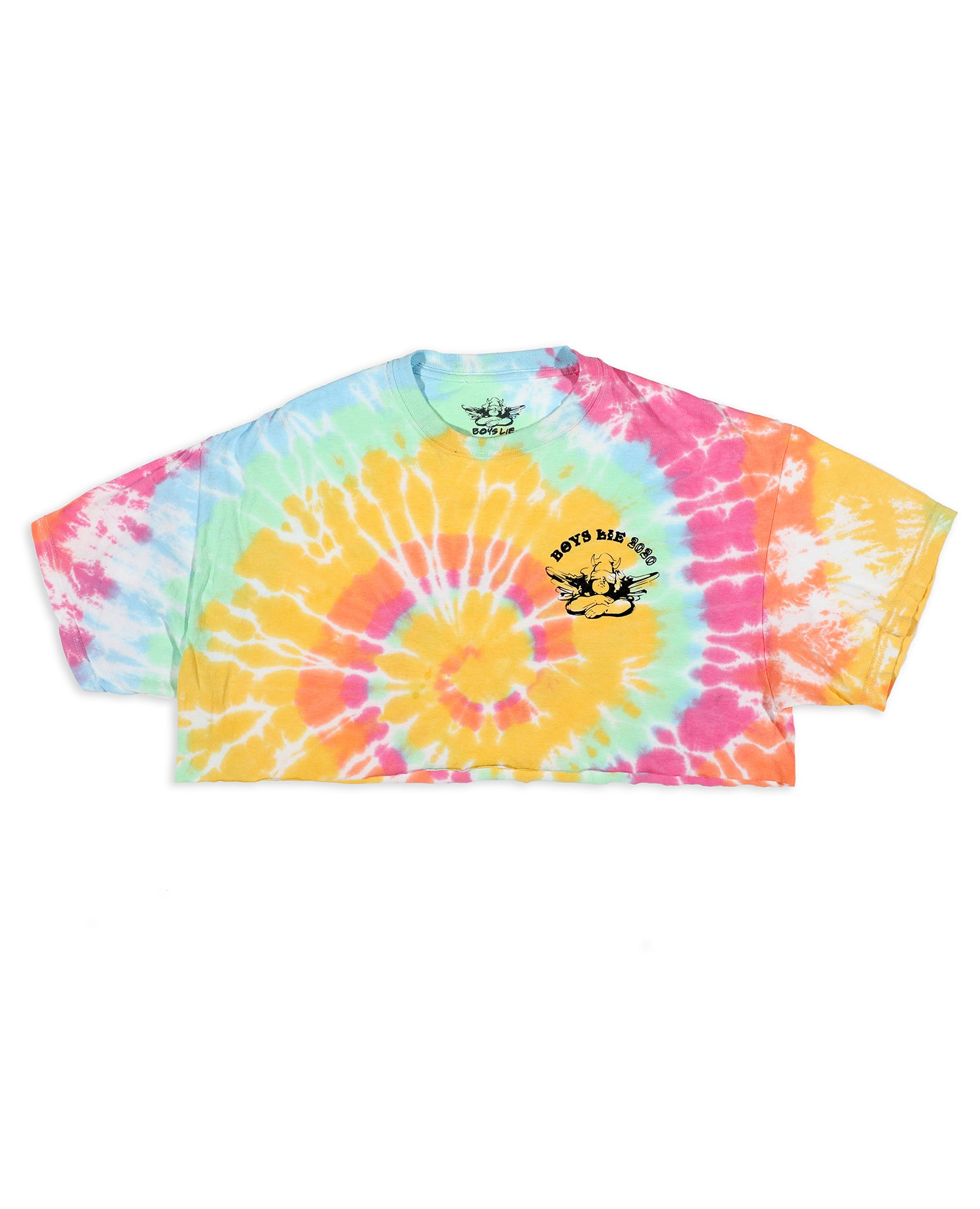 Within Us Cropped Tie Dye Tee