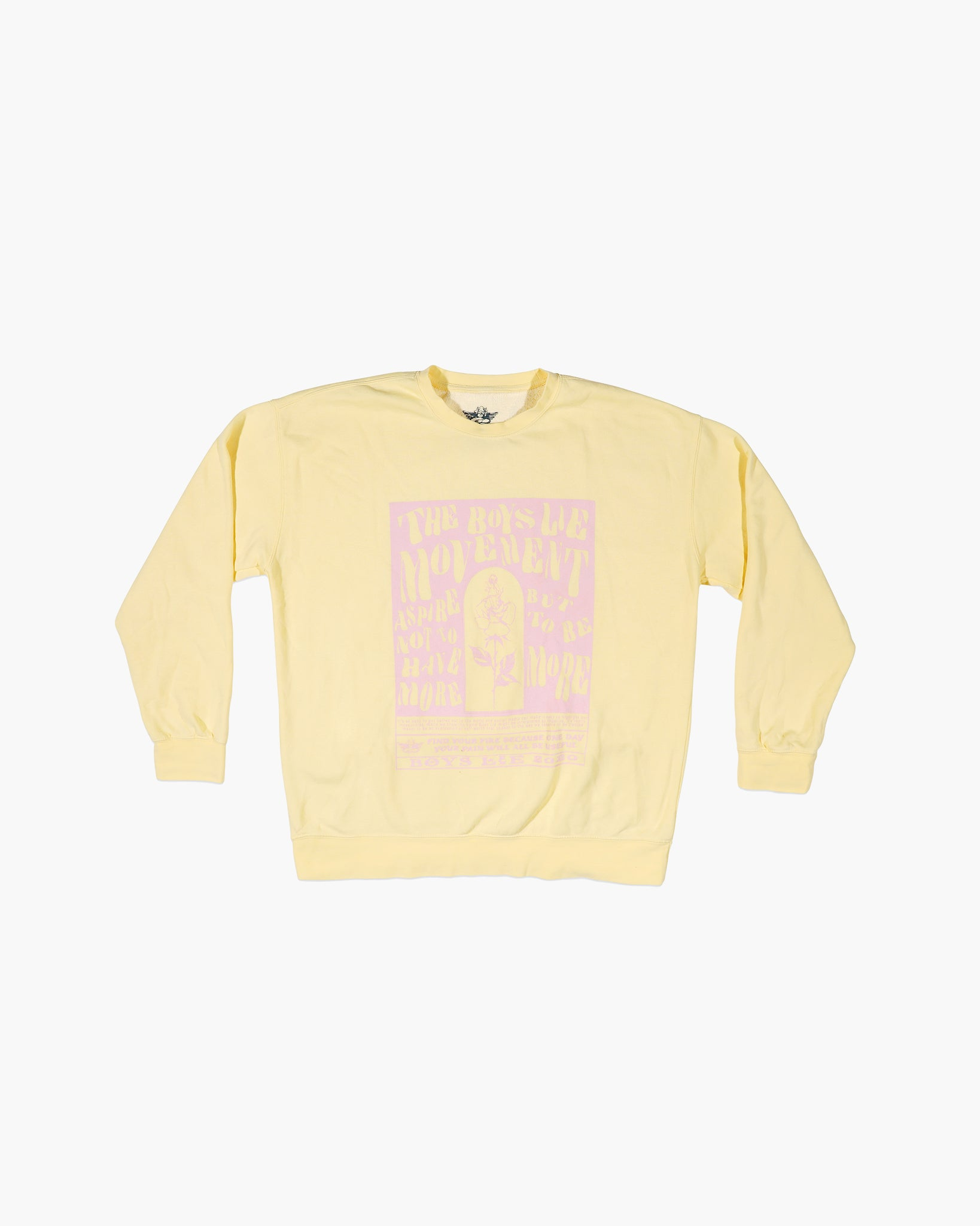 Butter Boys Lie Movement Y1 Crewneck