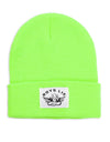BOYS LIE NEON YELLOW BEANIE