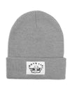 BOYS LIE HEATHER GREY BEANIE