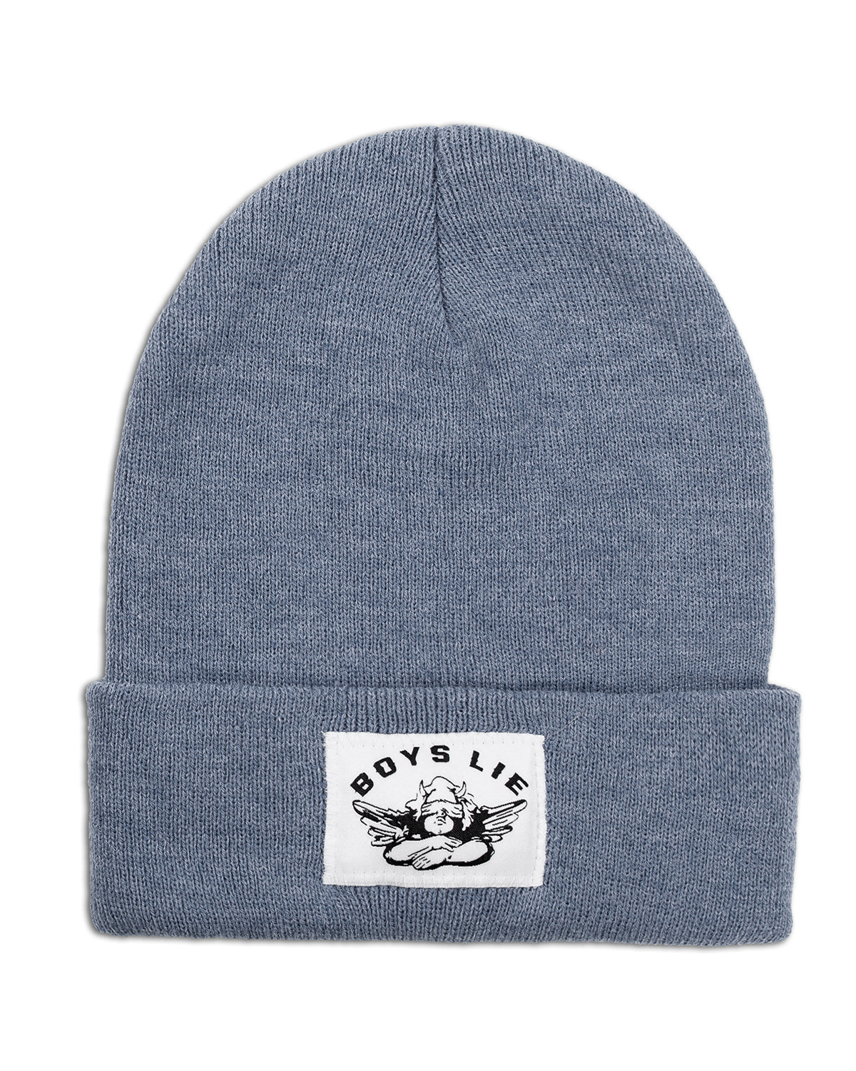 BOYS LIE HEATHER NAVY BEANIE
