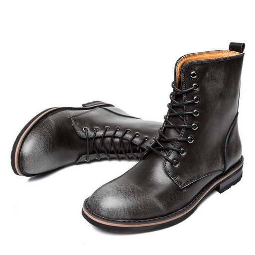 URBANFIND Hot Selling Men's Military Leather Martin Boots - VOLO AMERICA