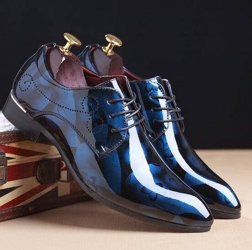 Hand-Painted Men Oxfords Shoes - VOLO AMERICA