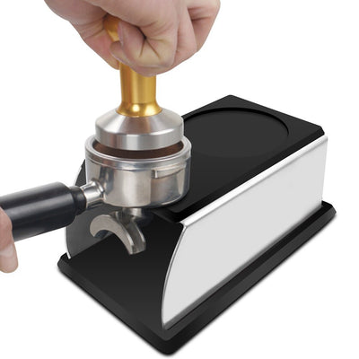 Stainless Steel Barista Tamping Holder - VOLO AMERICA