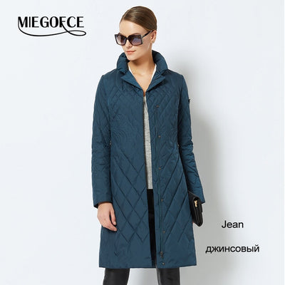 Women's Parka Coat , New Collection Of Designer MIEGOFCE