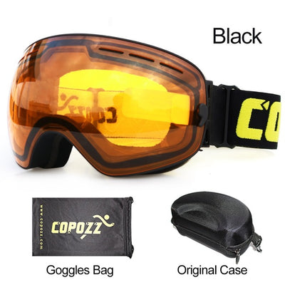 SKI AND SNOWBOARD GOGGLES FOR MEN'S AND WOMEN'S