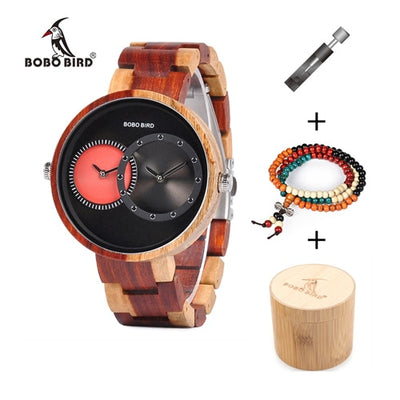 The Wooden Box - Watch and Bead bracelet Gift Box