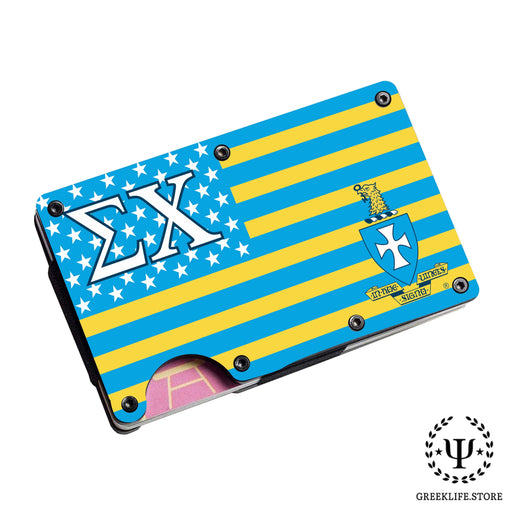 Sigma Chi Wallet \ Credit Card Holder - greeklife.store