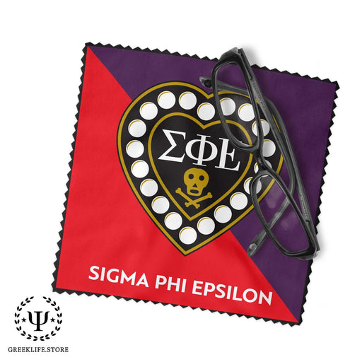 Sigma Phi Epsilon Eyeglass Cleaner & Microfiber Cleaning Cloth - greeklife.store