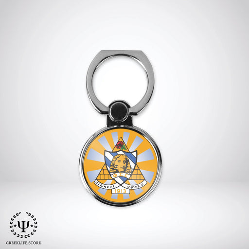 Phi Sigma Sigma Ring Stand Phone Holder (round) - greeklife.store