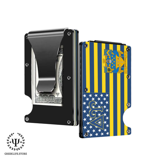 Delta Upsilon Wallet \ Credit Card Holder - greeklife.store