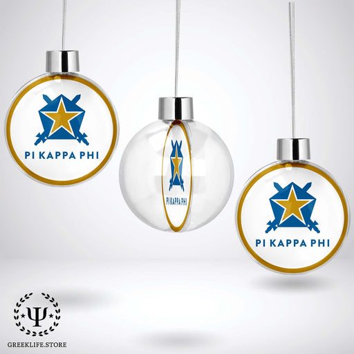 Pi Kappa Phi Christmas Ornament - Ball - greeklife.store