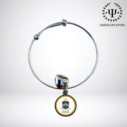 Pi Kappa Phi Round Adjustable Bracelet - greeklife.store