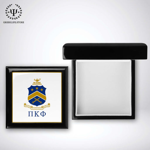 Pi Kappa Phi Keepsake Box Wooden - greeklife.store