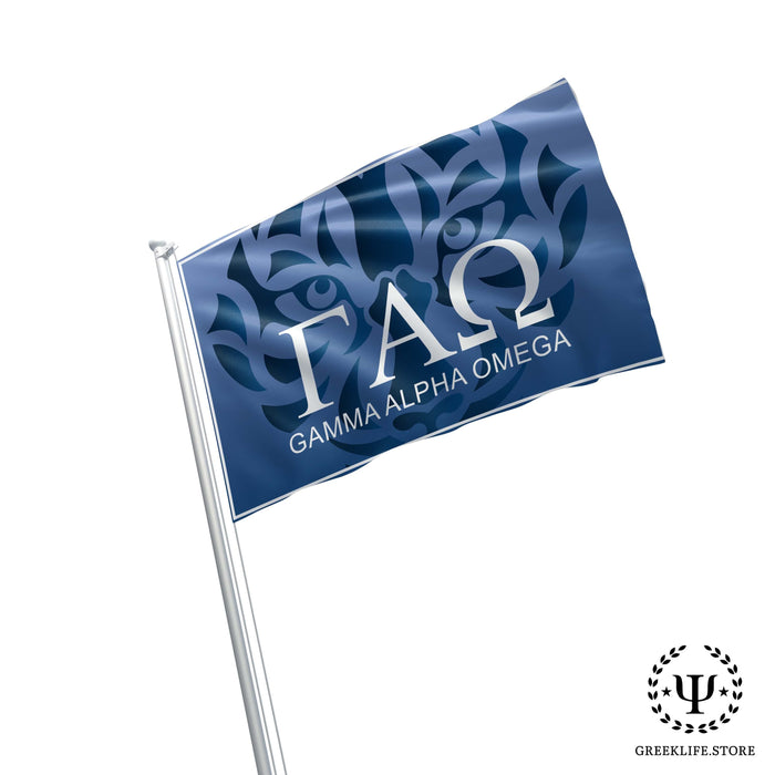Gamma Alpha Omega Flags and Banners - greeklife.store