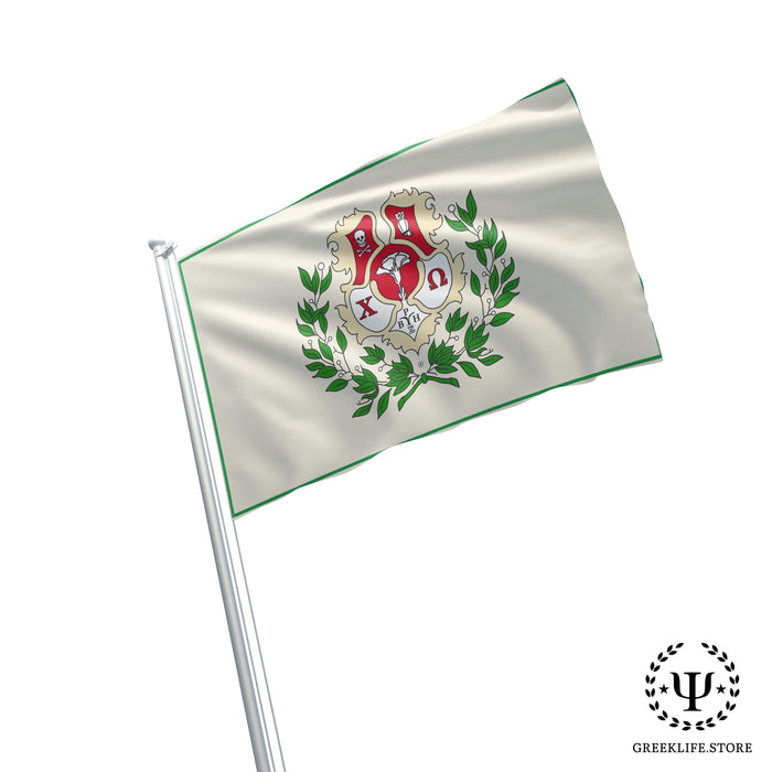 Chi Omega Flags and Banners - greeklife.store