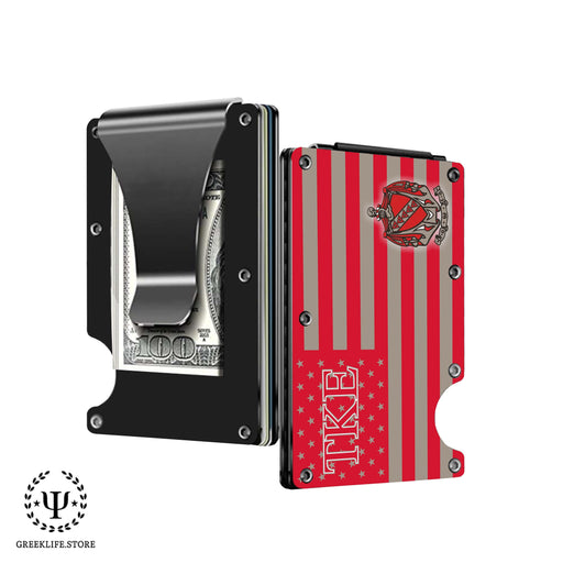 Tau Kappa Epsilon Wallet \ Credit Card Holder - greeklife.store