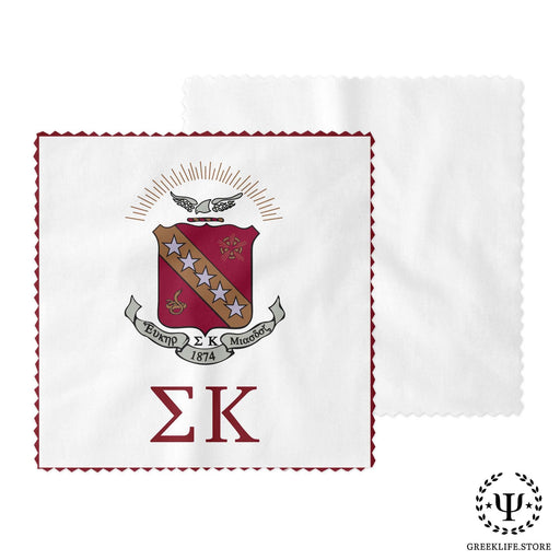 Sigma Kappa Eyeglass Cleaner & Microfiber Cleaning Cloth - greeklife.store