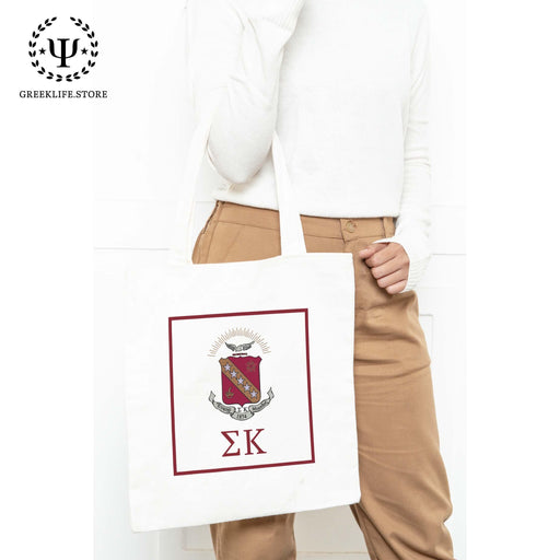 Sigma Kappa Canvas Tote Bag - greeklife.store