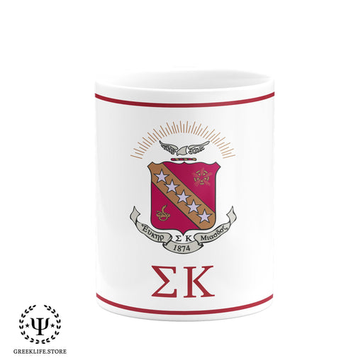 Sigma Kappa Coffee Mug 11 OZ - greeklife.store