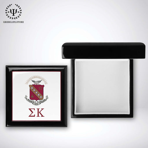 Sigma Kappa Keepsake Box Wooden - greeklife.store
