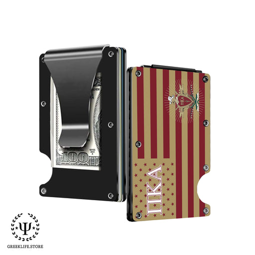 Pi Kappa Alpha Wallet \ Credit Card Holder - greeklife.store