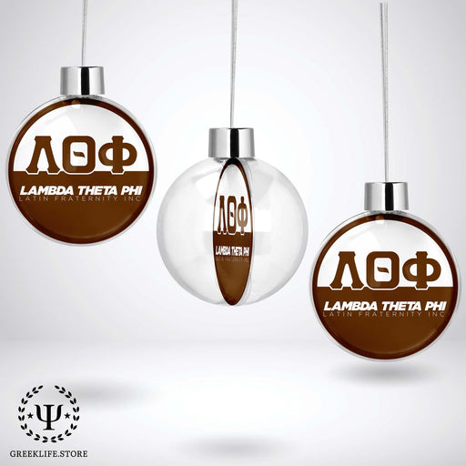 Lambda Theta Phi Christmas Ornament - Ball - greeklife.store