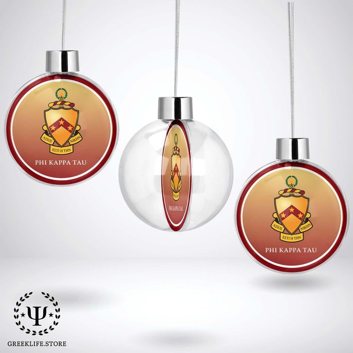 Phi Kappa Tau Christmas Ornament - Ball - greeklife.store