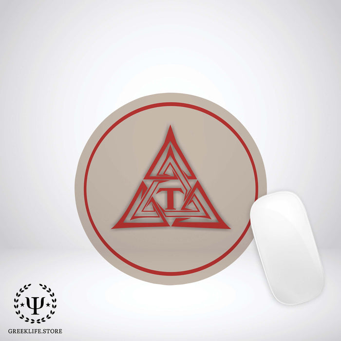 Triangle Fraternity Mouse Pad Round - greeklife.store