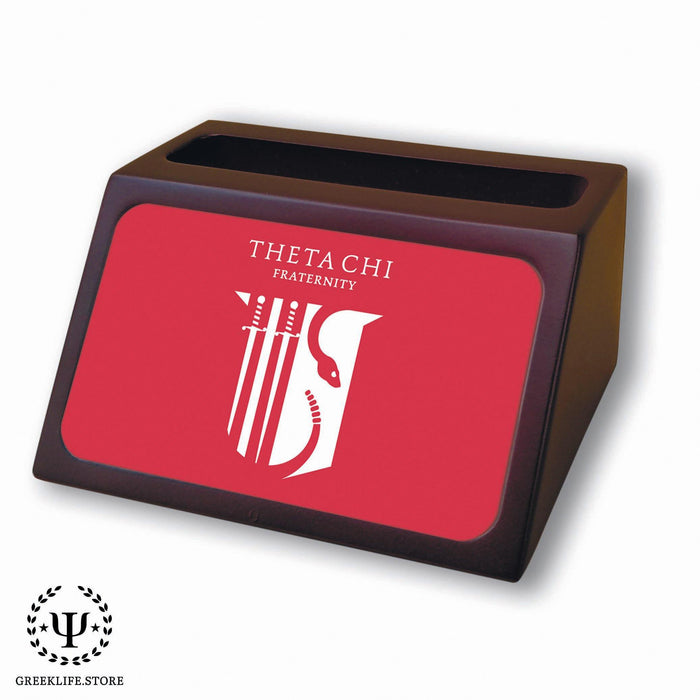 Theta Chi Wooden Card Holder - greeklife.store