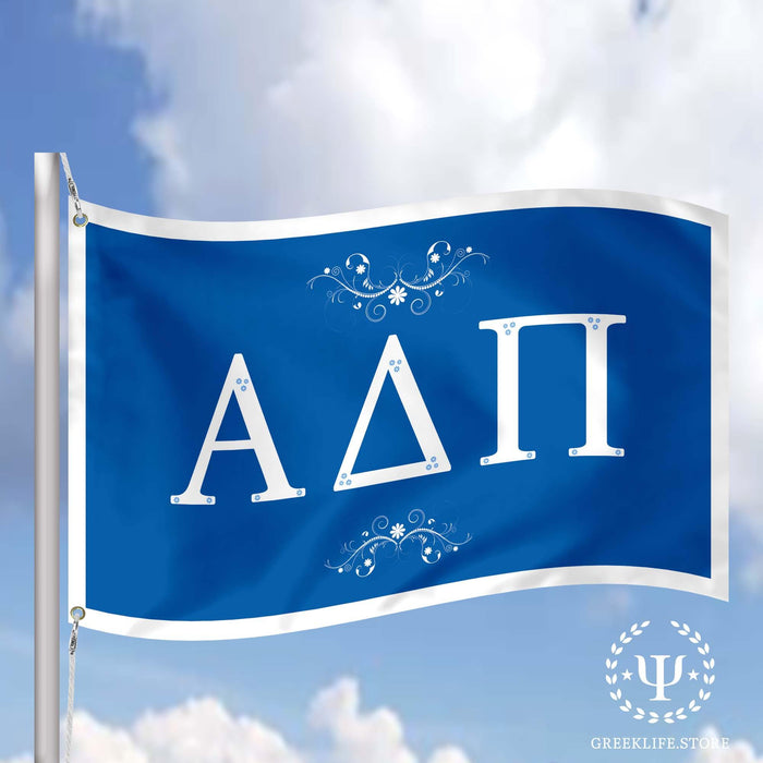 Alpha Delta Pi Flags and Banners