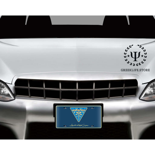 Lambda Kappa Sigma Decorative License Plate - greeklife.store