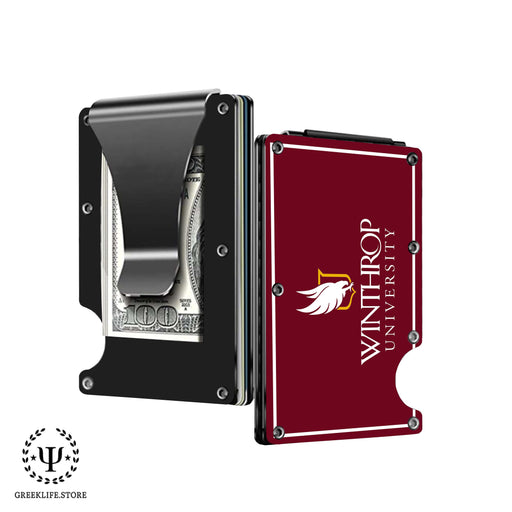 Winthrop University Wallet \ Credit Card Holder - greeklife.store