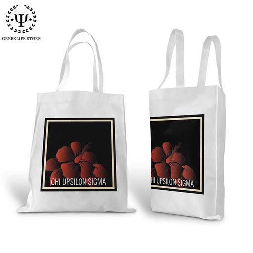 Chi Upsilon Sigma Canvas Tote Bag - greeklife.store