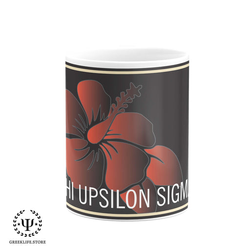 Chi Upsilon Sigma Coffee Mug 11 OZ - greeklife.store